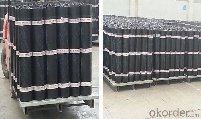 SBS Elastomer Modified-bitumen Waterproof Membrane For Roof