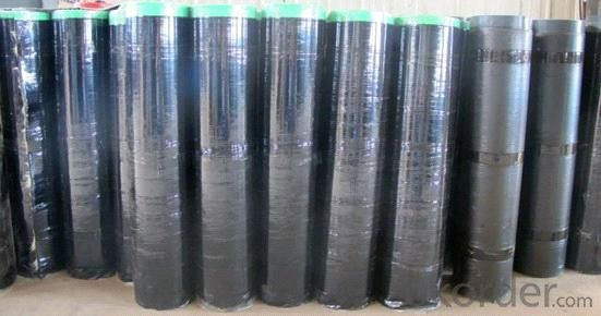 Self-adhesive SBS/APP Modified Bitumen Waterproof Membrane With High Quality