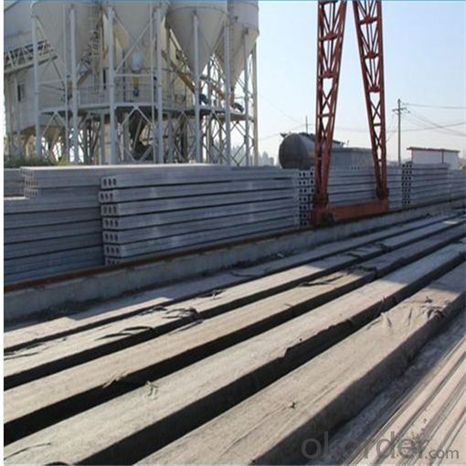 Mobile Concrete Hollow Core Roof Production Line