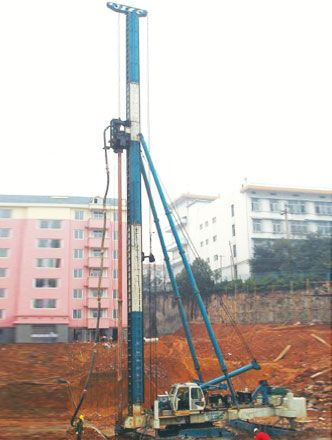 LGZ Series LGZ20 Hydraulic Foot-step Bored Drilling Rig