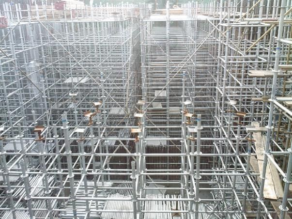 Reusable Fixed Galvanized Steel Scaffolding Q235, Q345 High Quality