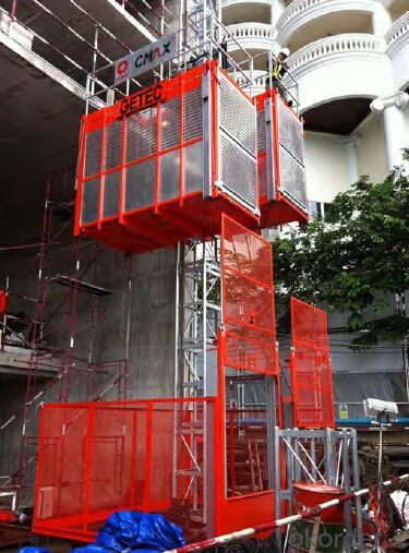 Mini Construction Hoist /Material Hoist /Building Hoist /Industrial Hoist /Lift /Elevator