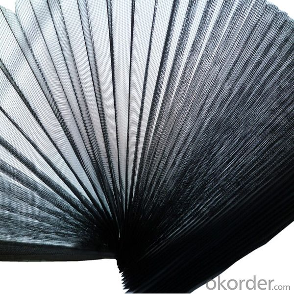 16*18 Pleated Mesh/Fiberglass/PP/PET/Polyester Pleated Window Screen/Plisse Mesh Screen