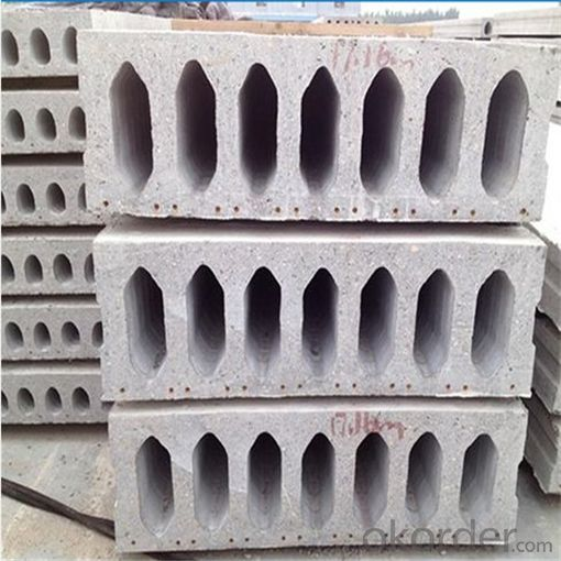 Stressing Concrete Hollow Core Panels Machine