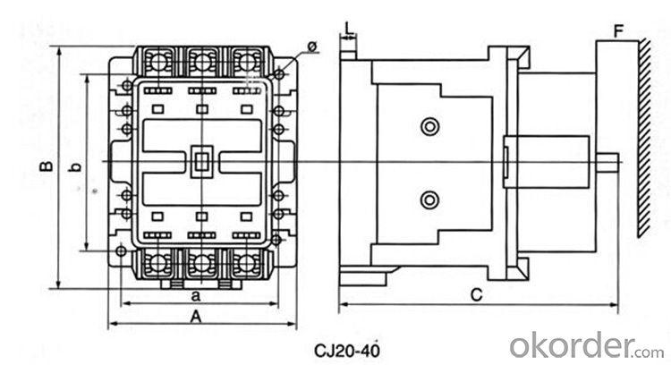electrical contactor CJ20-400A ac contactor magnetic contactor price contactors