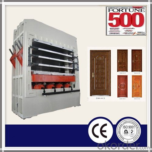1200T 5 Layer Door Skin Hydraulic Hot Press Machine