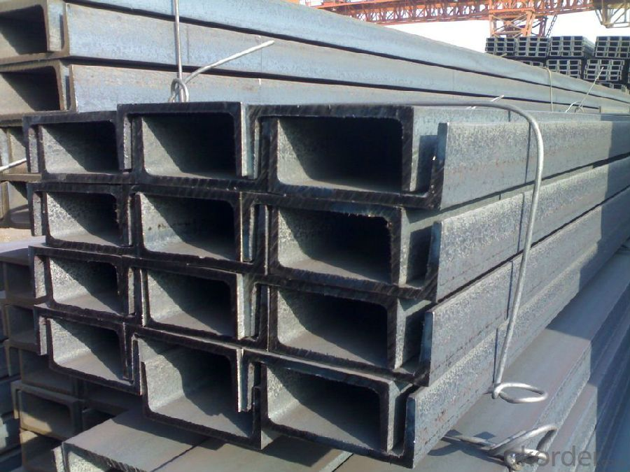GB U Channel JIS or UPN 50-300MM Hot Rolled