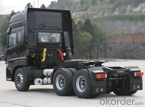 Tractor  HOWO-A7 6X4 Truck with 420HP