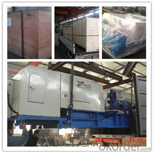 External Wall Slab and Floor Planks Making Machine