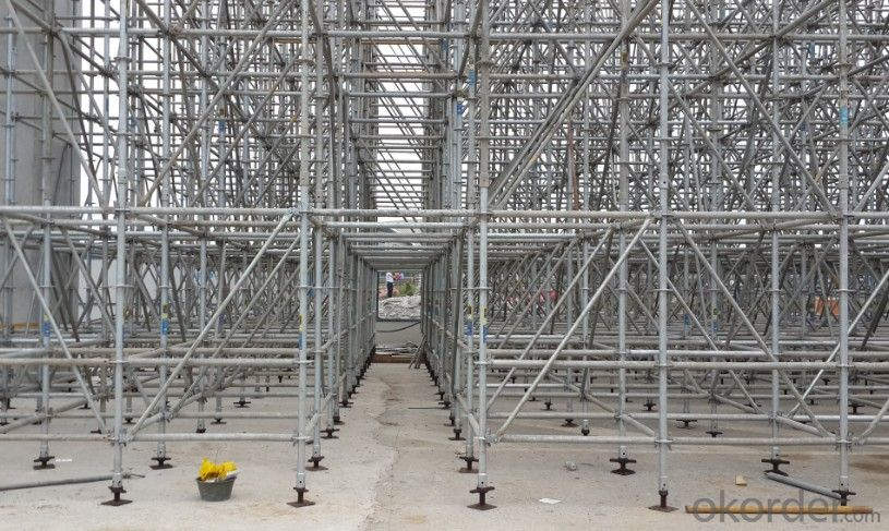 Steel Ringlock Scaffolding for High Rise Construction