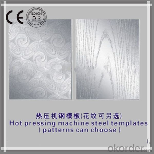 HDF Door Skin Hot Press /Veneer Door Skin / /Melamine Door Skin Hot Press