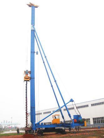 CFG Series Hydraulic Foot-Step Long Auger Drilling Rig