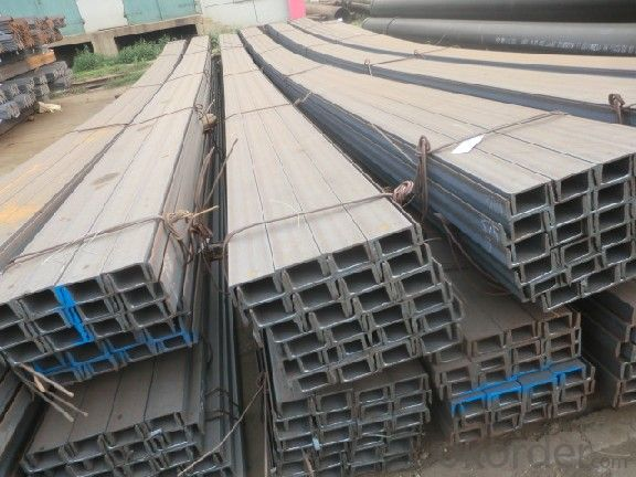 High Quality Hot Rolled U-Channel Steel