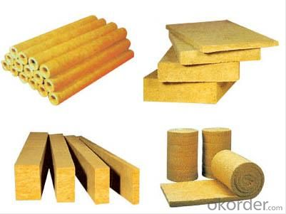 Rock Wool Thermal Insulation Board at Competitive Price.