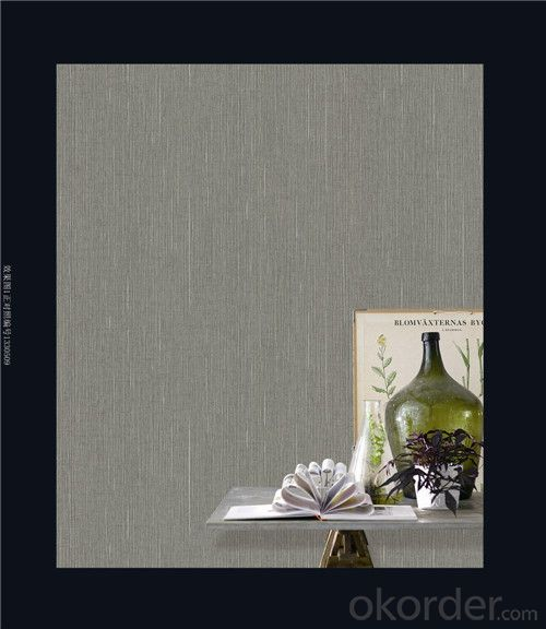 Fabric Backed Wallcovering Natural Luxury Walking Stick Vinyl Wallcovering