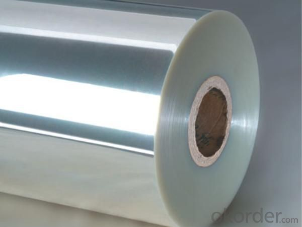PET FILM with ALUMINUM for DIFFERENT APPLICATION