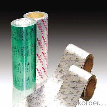 Pharmaceutical Foil Pill Foil Aluminum Foil