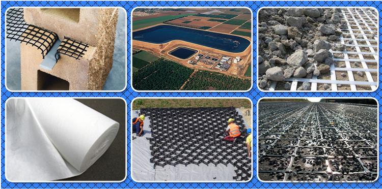 Biaxial, Uniaxial,Bitumen Coated  Black  Fiberglass Geogrid