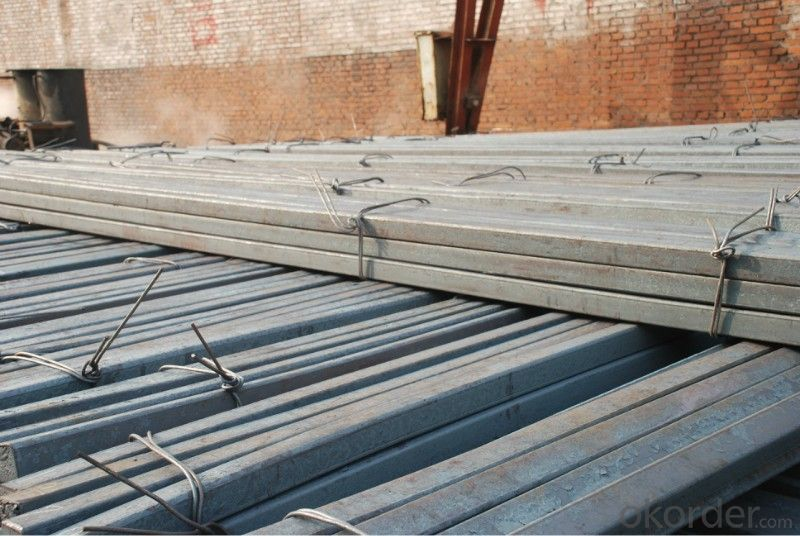 Low Carbon Hot Rolled Steel Square Bar in Bundle