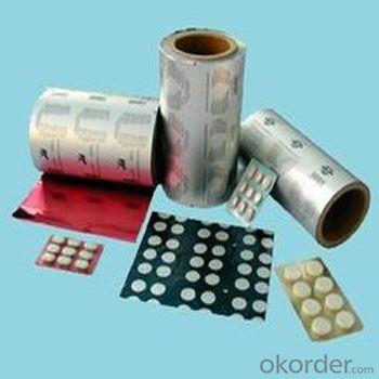 Lacquered Pharmaceutical Foil Aluminium Foil