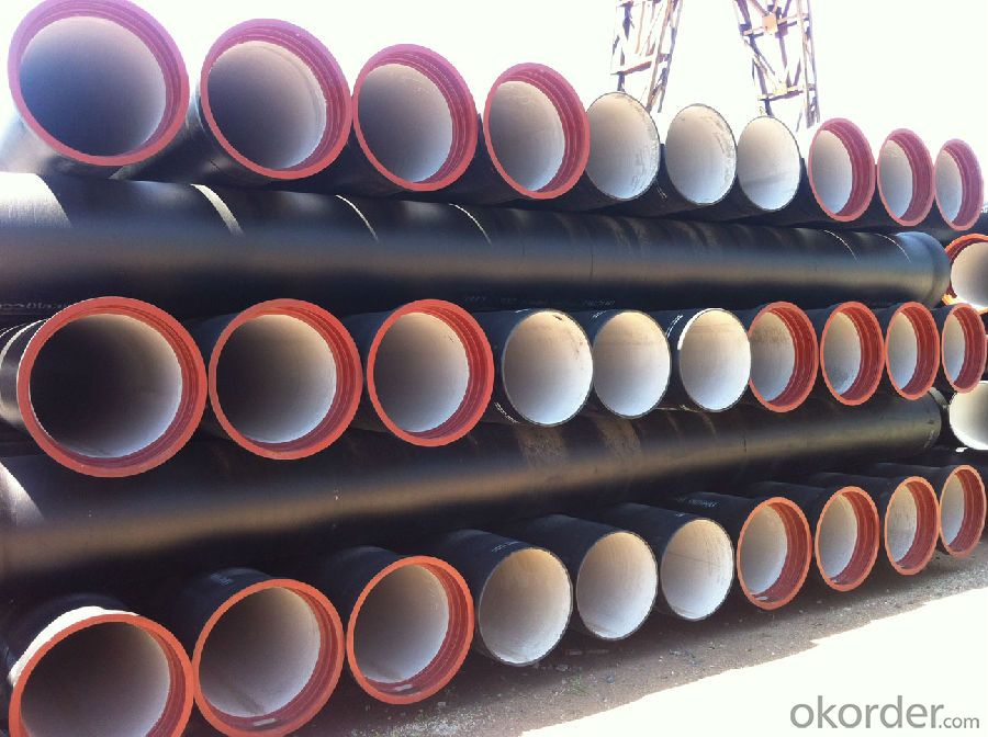 Ductile Iron Pipe ISO2531:1998  DN80-1200 K9 On Sale