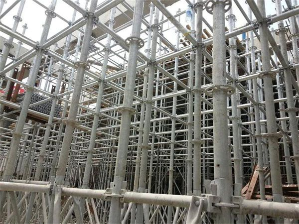 Cuplock Scaffolding Parts for Construction High Quality Hot Dip Galvanized Steel