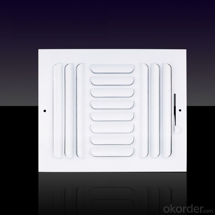 Square Air Diffusers Air Flow Vent for HVAC Systerm