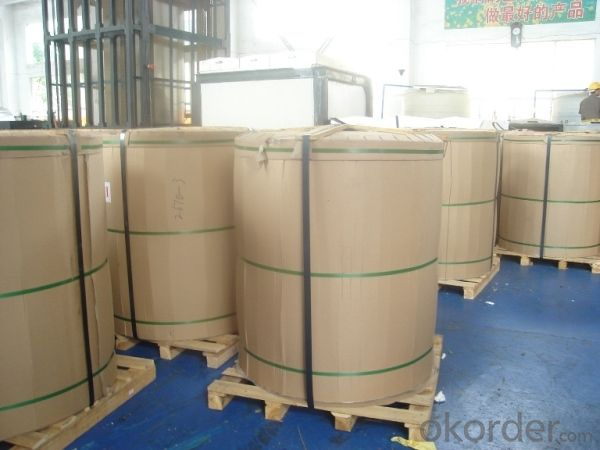 Blue Coated Aluminium Foils Used for Insulated Panels