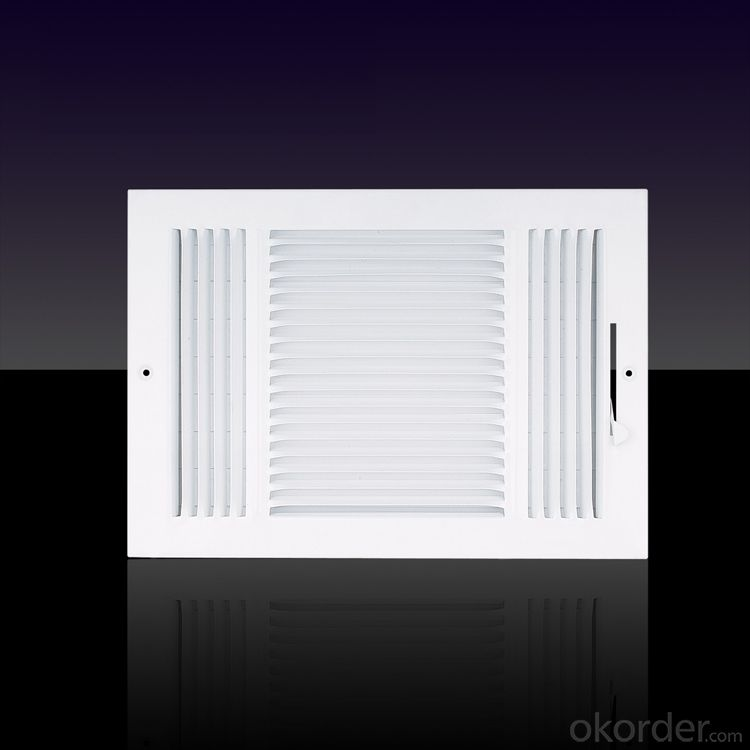 America Market Curved Air Vent Diffuser Ceiling Use