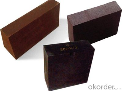 Fused-Rebonded Magnesia Chrome Bricks, Refractory Bricks
