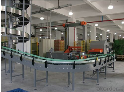 The Screw Conveyor For Carton Box in Packing