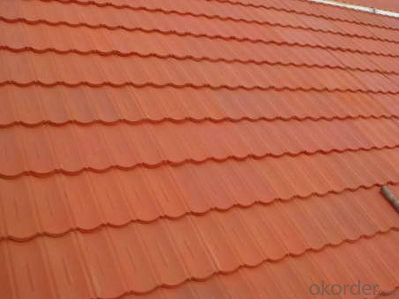 Lightweight Roof Tile with Colorful Stone Coated