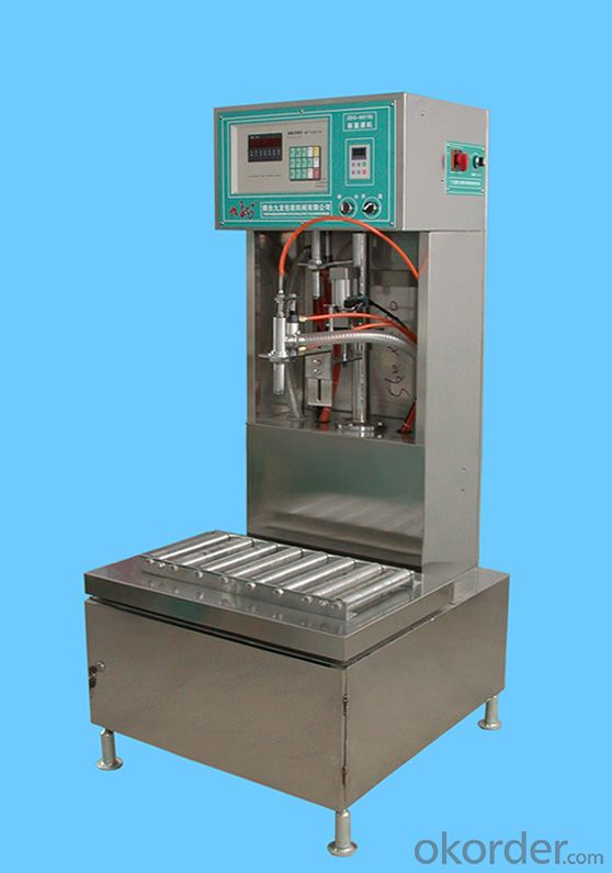 Weighing Filling Machine for Metal Packaing