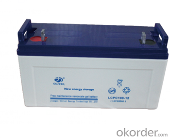 Storage Battery LCPC series 6v~12v  24~250AH
