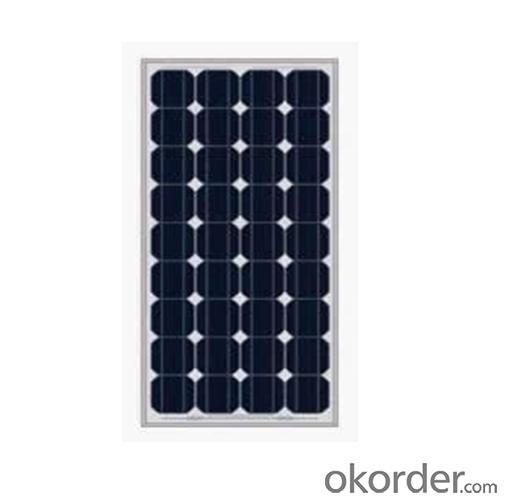Monocrystalline solar panel HSPV130Wp-125-54M