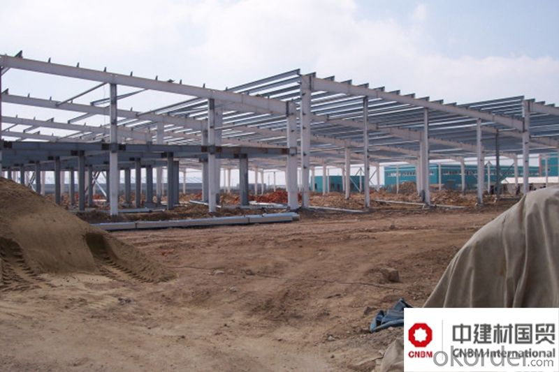 Prefabricated Light Weight Frame Steel Structural Factory Design