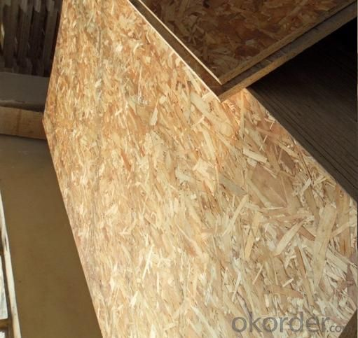 Oriented Strand Board Chinese Melamine Faced OSB