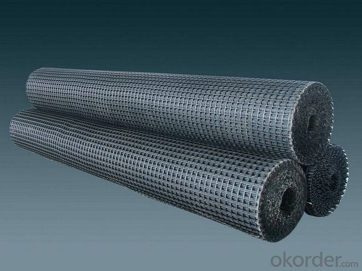 Fiberglass Geogrid Manufacturer with Self Adhesive