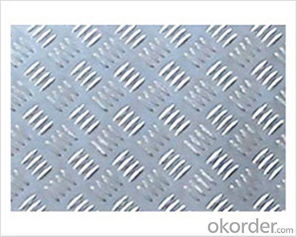 Aluminium Stucco Embossed Sheet 5052 1.2mm Thickness
