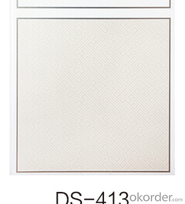 59.5*59.5cm,60*60cm Indoor Waterproof and Fireproof Pvc Ceiling and Pvc Wall Panel