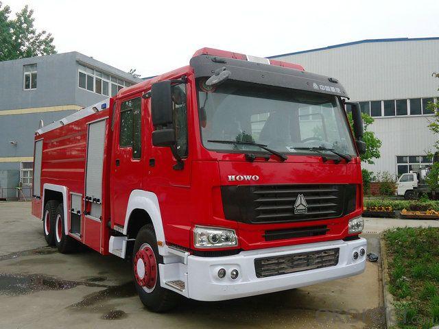 Fire Fighting Truck/Water and Foam Fire Truck (8000L)