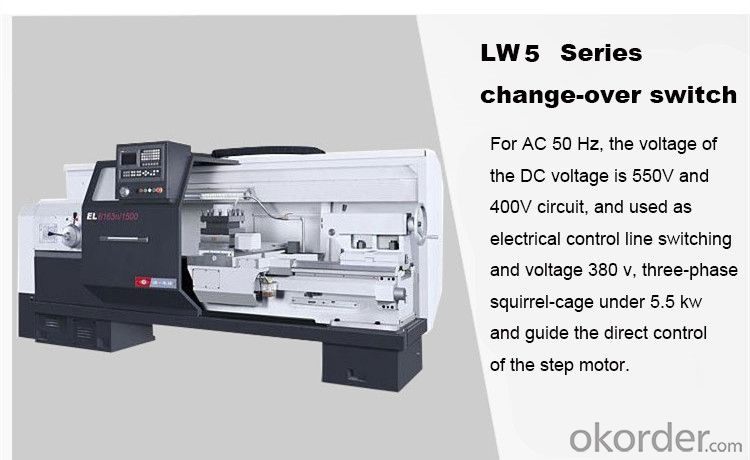 changeover switch LW5 Universal Changeover Switches wenzhou