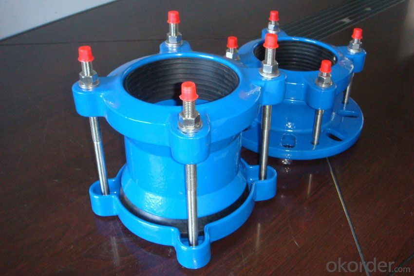 Ductile Iron Pipe Fittings Flange Socket Made in China for Sale