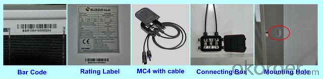 Mono 80W-100W Solar Panel CE/IEC/TUV/UL Certificate