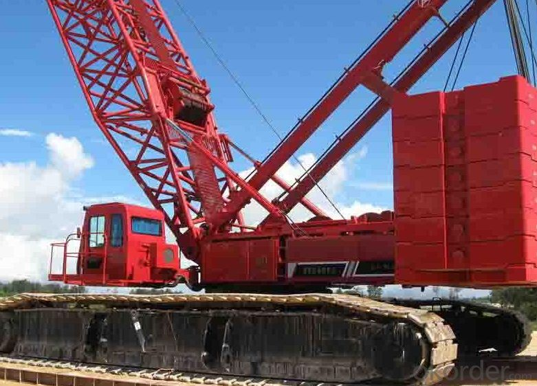 Crawler Crane Hydraulic Truck Crane Model of QUY80 Mobile Crane Capacity 80T