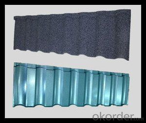 Stone Galvanized Steel Roofing Sheet from CNBM