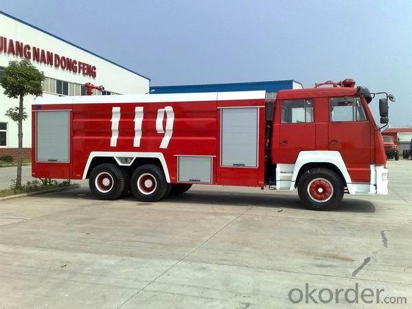 Fire Fighting Truck 6*4 Fire Truck/ (Water Tank, Foam Tank, COLD FIRE TANK)