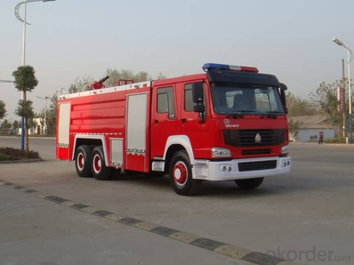 Fire-Fighting Truck  Hovo 6X4 Special