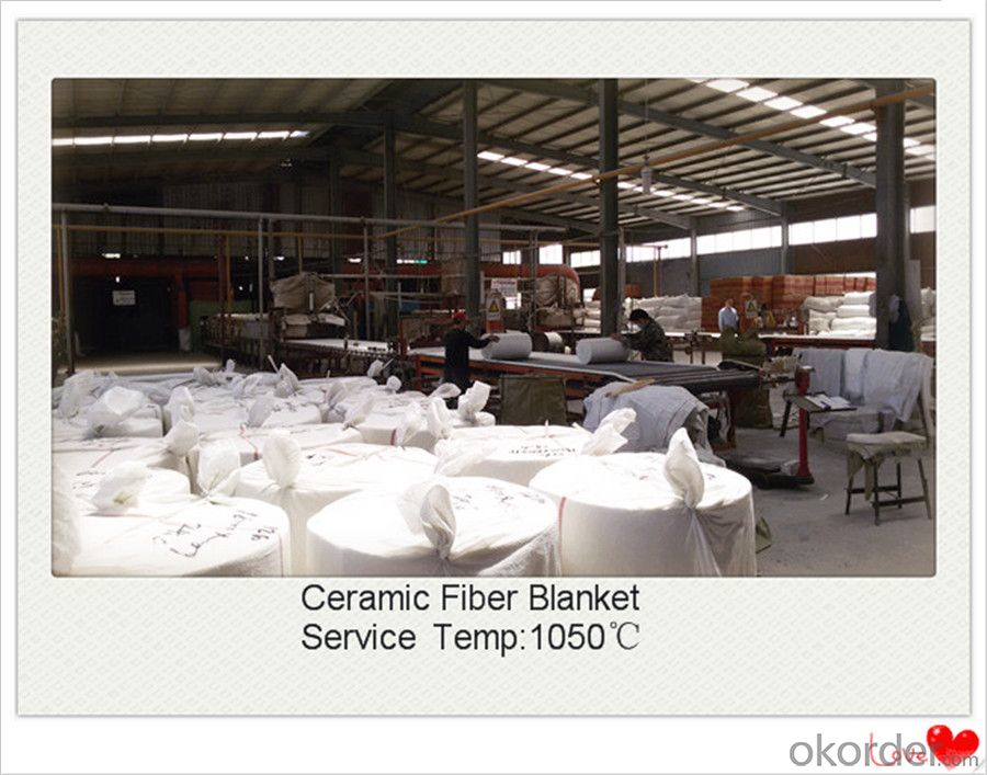Fireproof Thermal Ceramic Fiber Blanket for Hot Blast Furnace Made In China