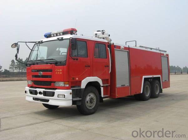 Fire Engine Truck 6*4 Water & Foam Tank Fire Fighting Truck